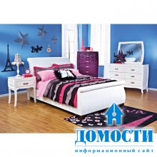 Спальная коллекция для девочек подростков