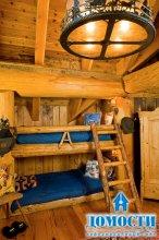 Особенности интерьера деревянных домов