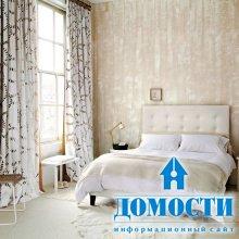 Нежно-романтичные спальни