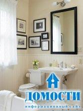 Визуальное увеличение ванных комнат