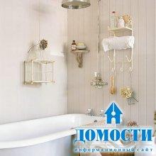 Декорирование небольших ванных комнат
