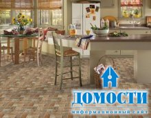 Кухонный пол: плитка