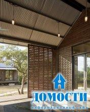 Модульный эко-дом с переходами