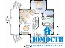 Планировка домов с подвалами