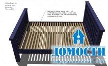 Самоделка: деревянная кровать