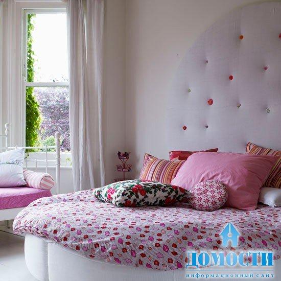 Спальня для девочки дизайн с кроватью в