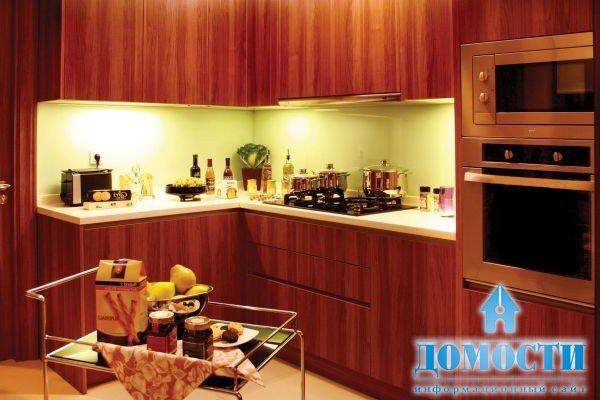 кухни коричневого цвета фото