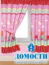 Дизайн штор в детскую