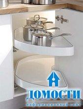 Кухонные гарнитуры в углу