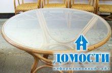 Стекло в дизайне столов