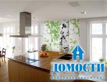 Особенности кухонных стеновых панелей