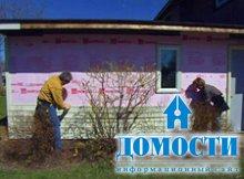 Подготовка деревянного дома к установке сайдинга