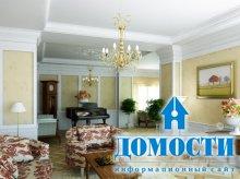 Классика в гостиных интерьерах