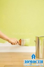 Умный подход к покраске стен