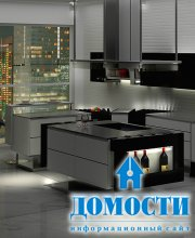 Модульная минималистичная кухня