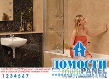 Панельный дизайн ванных