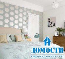 Акцентные стены в декоре спален