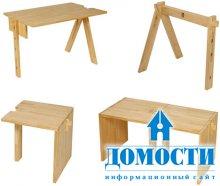 Модульная мебель из дерева