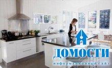 Современный дизайн кухонных стоек