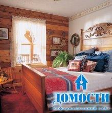 Дом из бруса: внутренняя отделка