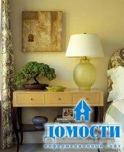 Элегантное совмещение гостиной и спальни
