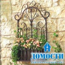 Булавки и железки для украшения стен
