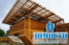 Концепт экологичного жилья воплотился в кедре