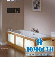 Безопасные панели в ванную