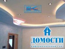 Дизайнерские потолки в спальне