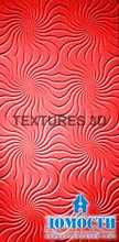 Текстурные 3D панели для стен
