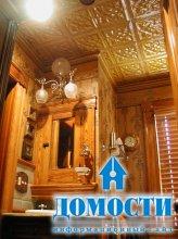Жесть на ванном потолке