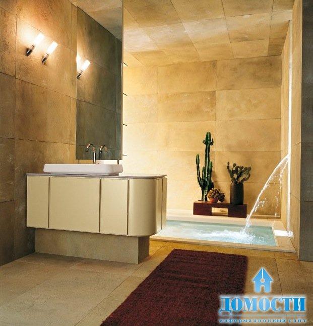 Встроенные ванные комнаты
