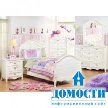 Спальный гарнитур для девочки