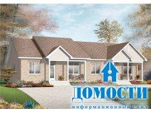 Планировка двухквартирных домов