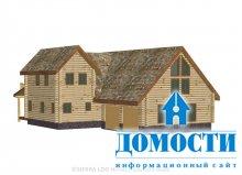 Бревенчатый дом для большой семьи