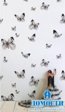 Динамизм и характер черно-белых стен