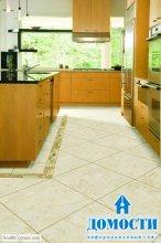 Выносливый кухонный пол