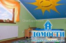Украшение потолка в детских