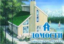 Загородные дома с мансардными крышами