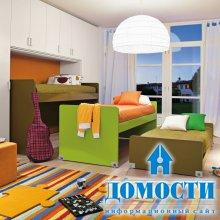 Детские кровати в три этажа