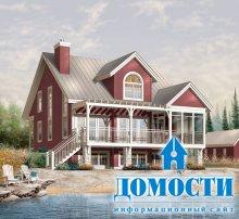 Дома на берегу: проекты