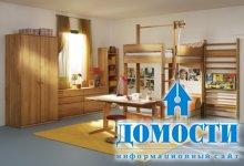 Современная детская мебель из дерева