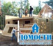 Строительство щитового домика