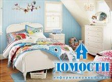Яркая мебель в спальню для девочек