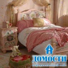 Кровати с мозаикой