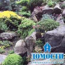 Камни в дизайне сада и двора