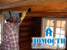 Выбор отделки деревянного дома