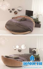 Круглые диваны: дорогое великолепие