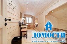 Деревянный интерьер деревянного дома