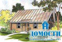 Бревенчатые дачные дома
